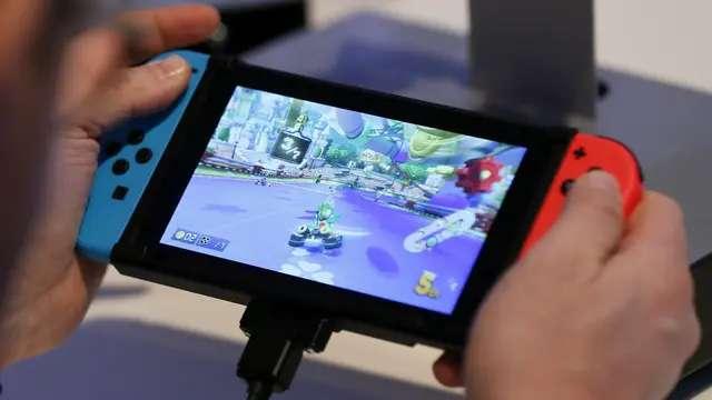 La Nintendo Switch se puede usar como una consola portátil