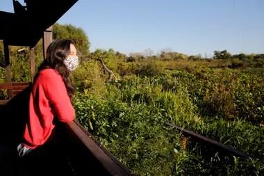 Bárbara Gasparri, directora de Ecología y Biodiversidad de San Isidro