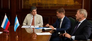 El secretario de Energía, Sergio Lanziani