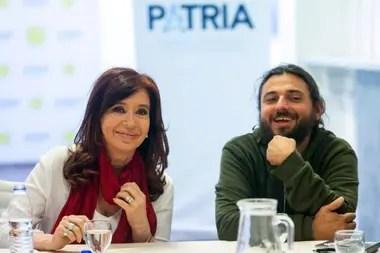 Cristina Kirchner y Juan Grabois