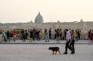 Roma continúa sin presencia de turistas