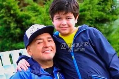 """Dieguito Fernando y su tierno mensaje a Maradona: """"Recuperate pronto"""""""