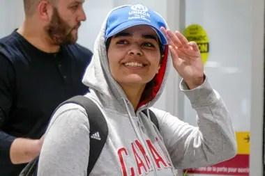 Rahaf Mohammed al-Qunun fue recibida por el gobierno de Justin Trudea