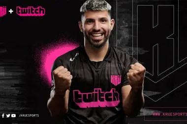 El Kun se sumergió en el mundo de los eSports con su propio equipo