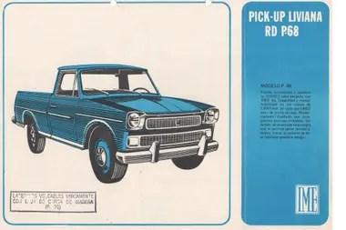 Publicidad del modelo RD P68