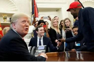 """Trump aseguró que West """"muy bien podría ser"""" candidato a presidente"""
