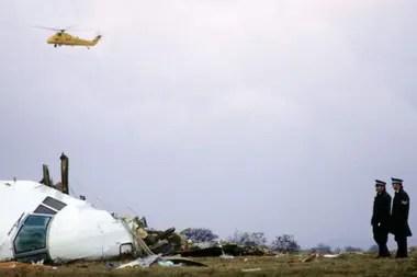 Debido a la bomba en el avión murieron en total 270 personas