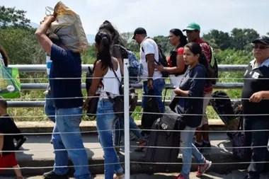 """""""Se ha exagerado toda la campaña que se ha hecho sobre la migración en Venezuela. Somos un país receptor de inmigrantes. Ustedes no lo saben ni lo difunden"""", afirmó Maduro."""