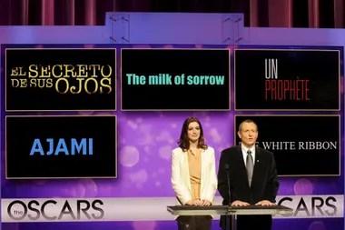 El camino al premio: el anuncio de la nominación al Oscar, con La cinta blanca de Michael Haneke como gran rival
