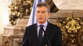El presidente de la Nación, Mauricio Macri