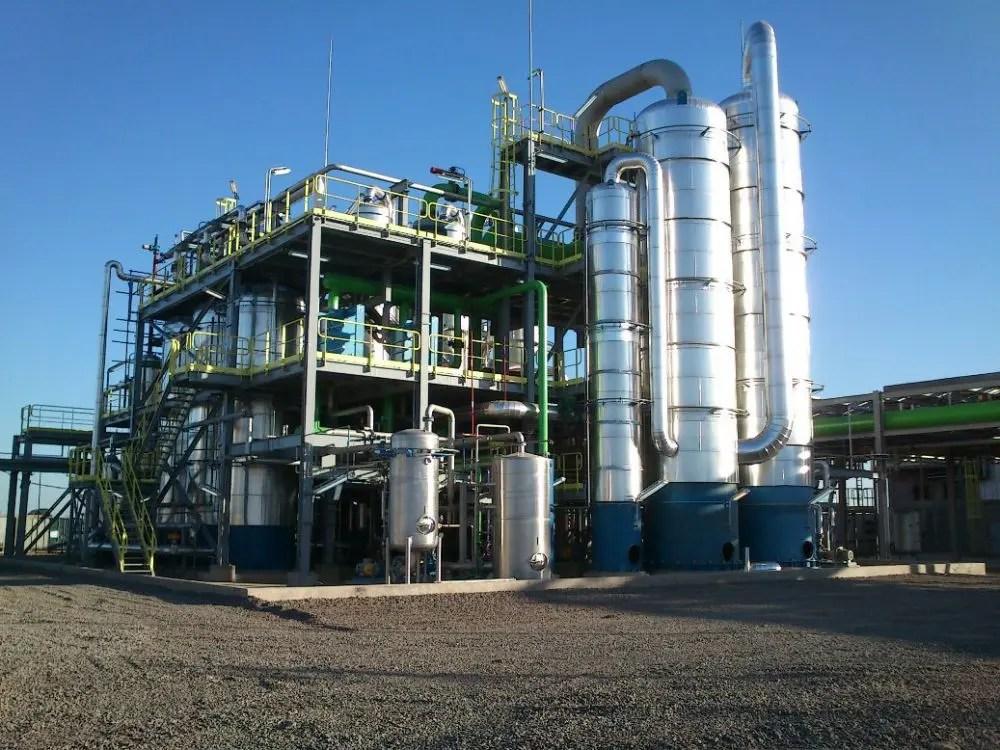 La planta de ACA está integrada. Foto: ACA Bio