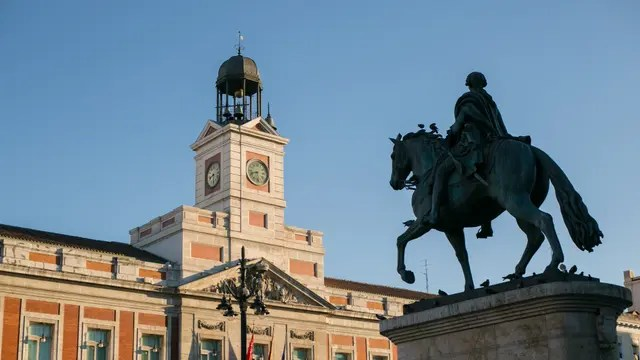 El de Puerta del Sol en Madrid