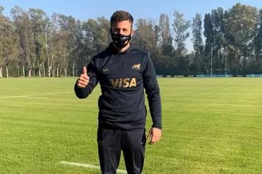 """""""Tenemos que aprovechar al máximo esta oportunidad, entendiendo la realidad que se nos presenta"""", afirmó Bautista Delguy, un talento del seleccionado argentino."""