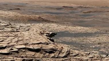 Como muchos grandes paisajes, este panorama del pie de montaña Greenheugh está hecho de múltiples imágenes individuales