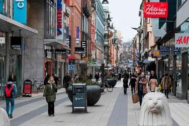Suecia no se encuentra bajo confinamiento, como otros países europeos