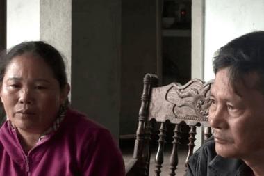 """Los padres de Hoang Van Tiep contaron que su hijo había pagado por un """"servicio VIP"""""""