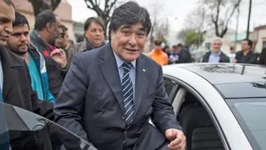 Carlos Zannini, otro de los vacunados vip