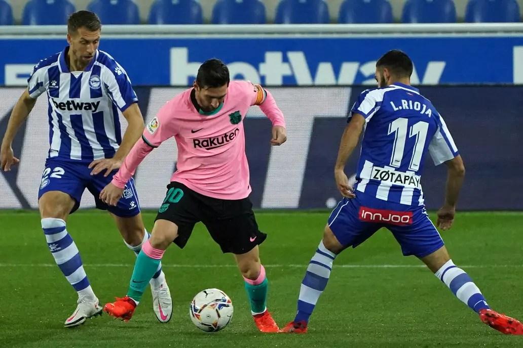 Alavés-Barcelona, Liga de España: se juega con Lionel Messi como titular -  LA NACION
