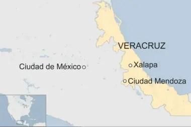Ciudad Mendoza es una población de unos 35.000 habitantes ubicada al sur de Xalapa, la capital de Veracruz