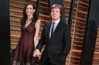 Paul McCartney y su esposa, Nancy Shevell tuvieron una