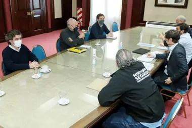 Reunión Axel Kicillof y Horacio Rodríguez Larreta
