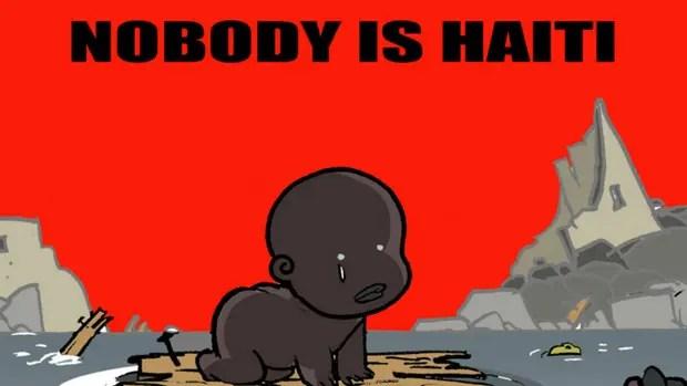 """""""Nadie es Haití"""": la viñeta que cuestiona la falta de interés por las víctimas del huracán Matthew"""