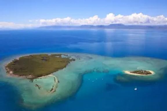 Vista panorámica de las islas y sus arrecifes de coral (Md Saiful Islam Bhuiyan)