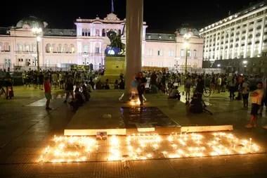 La muerte de Maradona: el minuto a minuto de la vigilia en la Casa Rosada