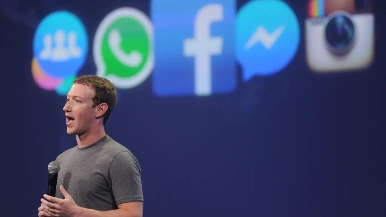 El imperio de Mark Zuckerberg: Facebook, Whatsapp e Instagram.