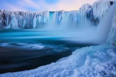 El agua vikinga de Ölfus, en Islandia
