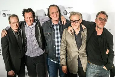 Madsen, Tarantino, Steve Buscemi, Harvey Keitel y Tim Roth reunidos para festejar los 25 años de Perros de la calle