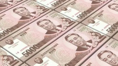 Kim cobraba aproximadamente una comisión del 30% del dinero enviado, siendo un trabajo lucrativo en comparación con el norcoreano promedio Crédito: BBC