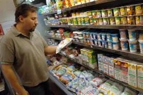 Las ventas de lácteos sufrieron una dura caída