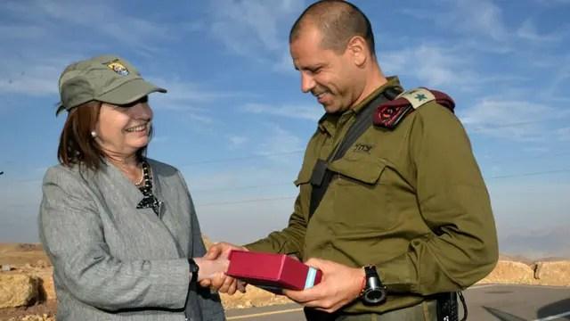 Patricia Bullrich recorrió la frontera israelí y visitó las unidades del Ejército