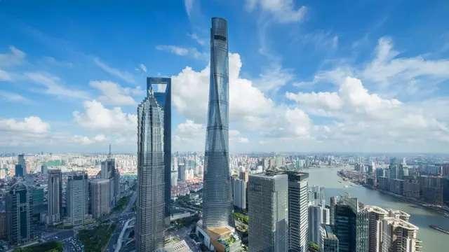 Jin Mao Building en Shangai