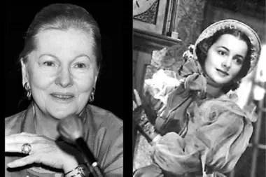 Havilland (der.) y Joan Fontaine (izq.) Siendo muy pequeñas, tuvieron que afrontar muchos cambios familiares con sus padres y en los lugares en los que vivían, lo que generó muchas peleas entre ellas, y en una de esas, Oliva le rompió la clavícula a Joan.