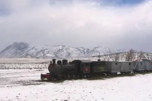 Las locomotoras de 1922, consideradas piezas históricas únicas, son de la marca alemana Henschel