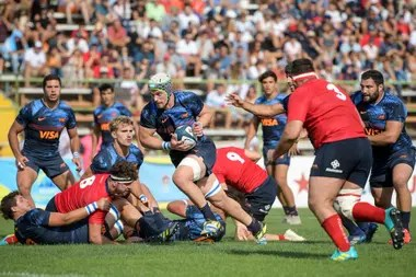 Argentina XV devastated Chile in Santiago; with the 85-10, he set several records in the tournament.