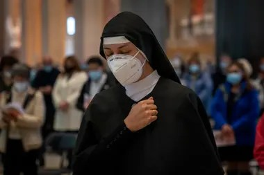 Coronavirus: polémica en Barcelona por un evento religioso en la Sagrada Familia. 7 de Nov. de 2020