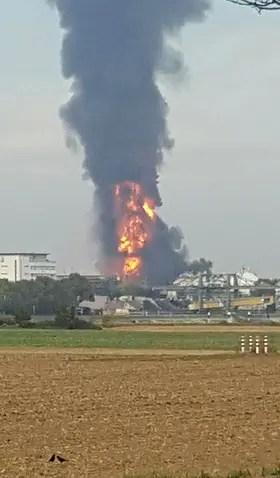 Explotaron dos plantas químicas en Alemania: hay varias personas heridas y desaparecidas