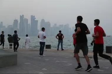 Una imagen de Doha, la capital del emirato