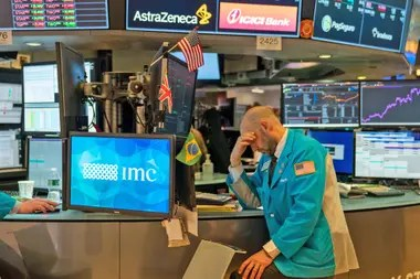 Las acciones argentinas caían hasta un 6,5% en Wall Street