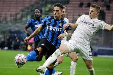 Lautaro Martínez, scorer for a rather irregular Inter so far this season in Serie A.