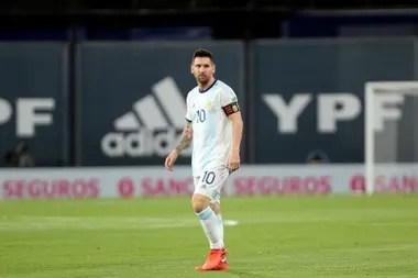 Lionel Messi, capitán y símbolo del seleccionado albiceleste