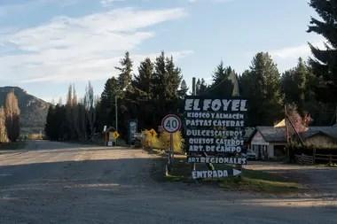 La localidad de El Foyel, a 75 kilómetros de Bariloche