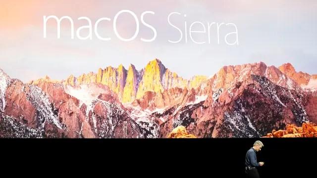 A partir de la nueva versión Sierra, OS X pasará a llamarse macOS