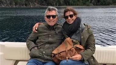 Mauricio Macri junto a su mujer, Juliana Awada, en un viaje anterior a Villa La Angostura