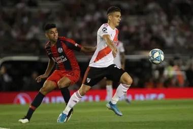 En su último partido como local en el torneo, River perdió ante San Lorenzo, el 8 de diciembre