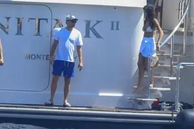 Leonardo DiCaprio y su novia, Camila Morrone, suelen hacer paseos románticos en yate