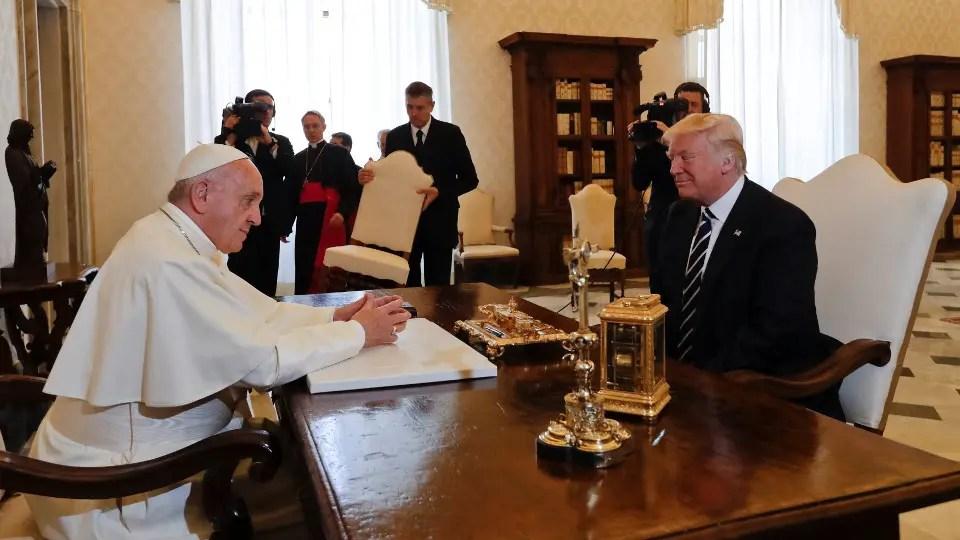 La reunión duró 28 minutos. Foto: Reuters